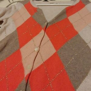 Old Navy Sweaters - Argyll, button cardigan